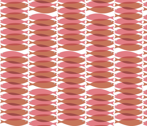 sardinered fabric by antoniamanda on Spoonflower - custom fabric