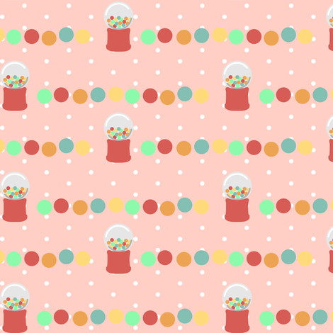 gumball fabric by mrshervi on Spoonflower - custom fabric