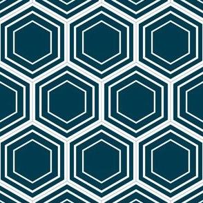 honeycomb (navy)
