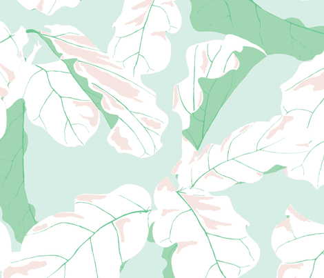 Tropicali in South Beach fabric by domesticate on Spoonflower - custom fabric