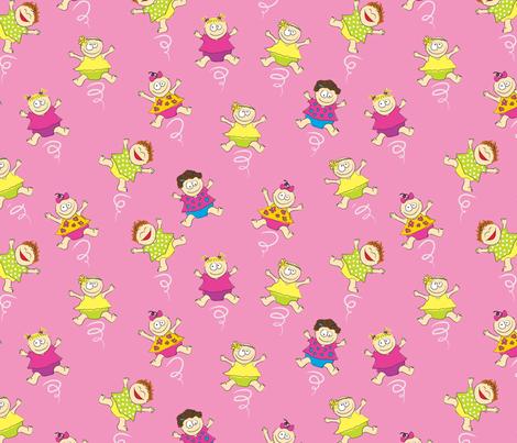 TwirlingBabyGirls fabric by ghennah on Spoonflower - custom fabric