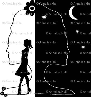 Walking Day & Night (larger print)