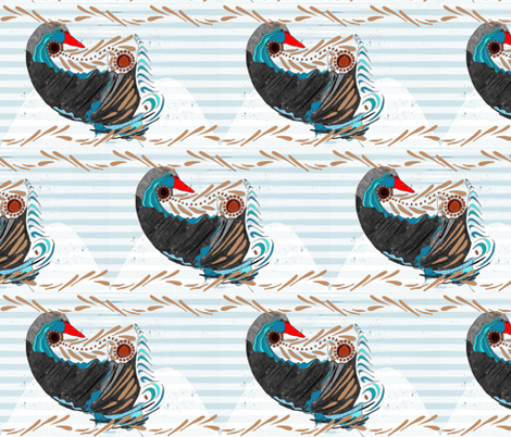 Maroochy and Coolum fabric by wiccked on Spoonflower - custom fabric