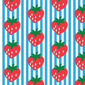 strawberry stripe james