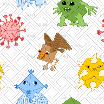 polyhedral monsters