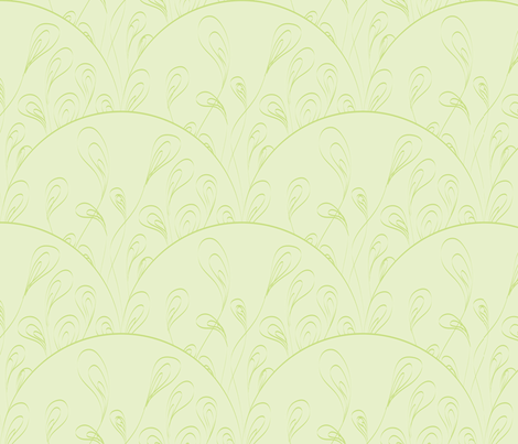 Precious Grass fabric by majobv on Spoonflower - custom fabric