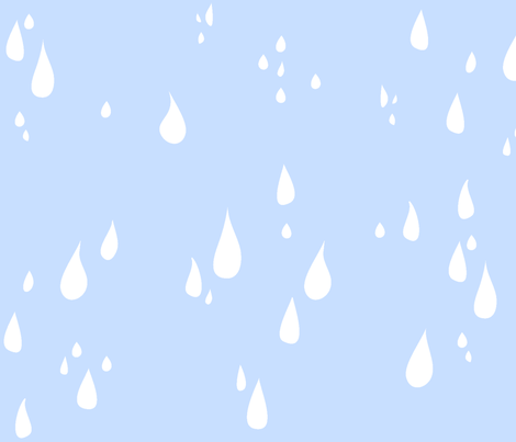 Falling Drops fabric by majobv on Spoonflower - custom fabric