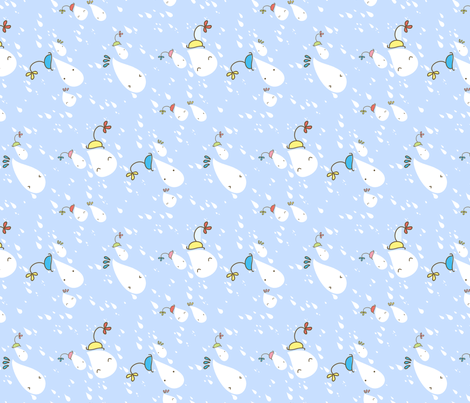 """""""Let's Party!"""" fabric by majobv on Spoonflower - custom fabric"""