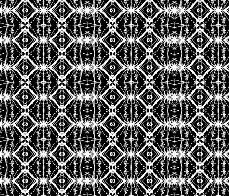 Black and White Diamonds fabric by wren_leyland on Spoonflower - custom fabric