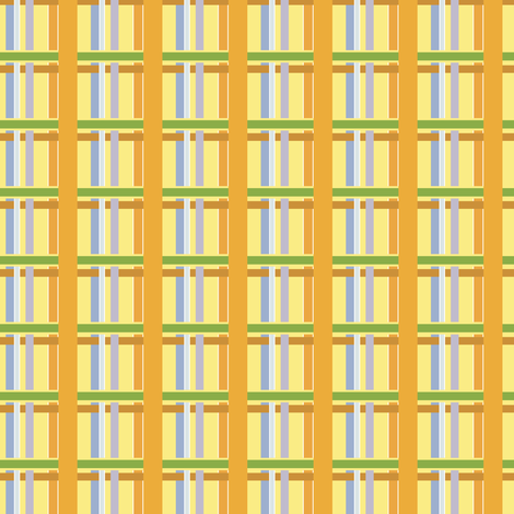 Bright Plaid fabric by petals_fair_(peggy_brown) on Spoonflower - custom fabric