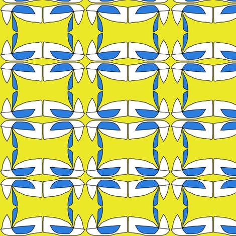 Blue Bird in Huntsville, AL-ch fabric by susaninparis on Spoonflower - custom fabric