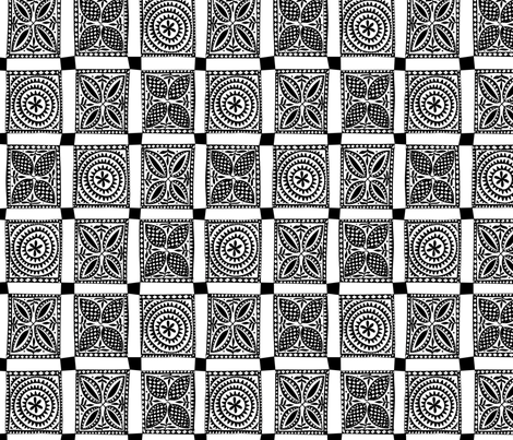 Check Tapa fabric by spellstone on Spoonflower - custom fabric