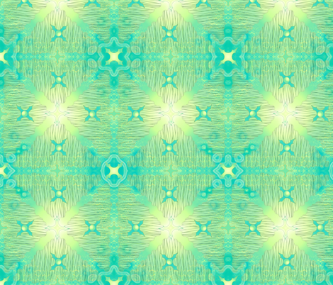 ©2011 Seagrass Symphony fabric by glimmericks on Spoonflower - custom fabric