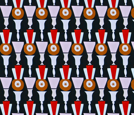 Asterisk Urns fabric by boris_thumbkin on Spoonflower - custom fabric