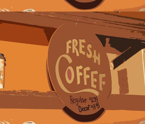 Fresh Coffee fabric by jenniferfaith on Spoonflower - custom fabric