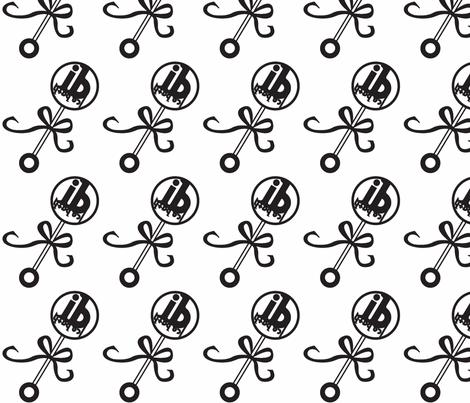 baby_rattle-ed-ch fabric by icebath on Spoonflower - custom fabric