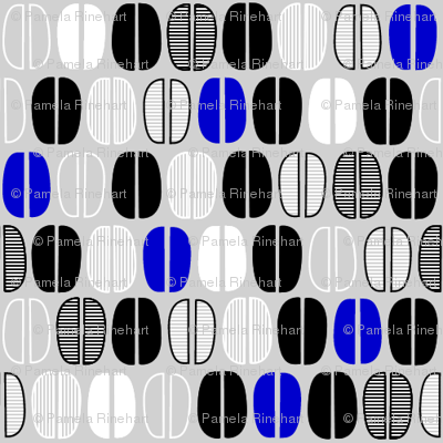 ©2011 Coffeebeans - Grey, Blue, Black and White