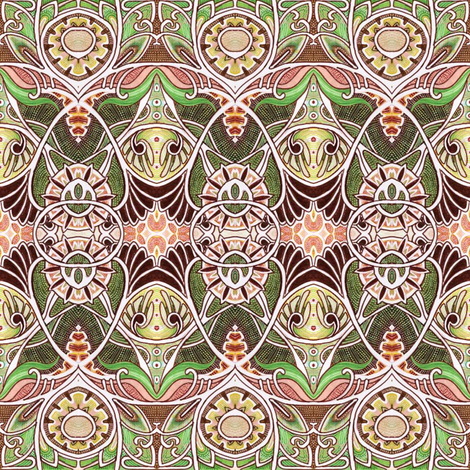 Victorian Gothic fabric by edsel2084 on Spoonflower - custom fabric