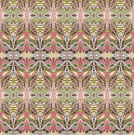 Queen Victoria's African Safari fabric by edsel2084 on Spoonflower - custom fabric