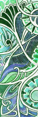 Victorian Gothic (green)