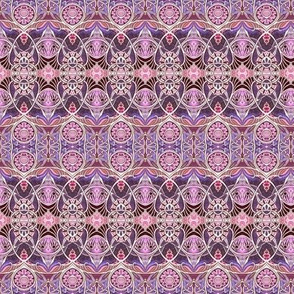 Victorian Gothic (magenta/lavender)