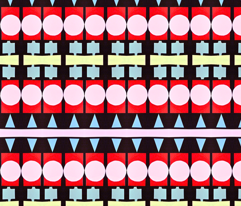 Enamel Bracelet Stripes fabric by boris_thumbkin on Spoonflower - custom fabric