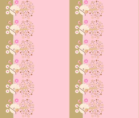 Yummy baby buggy / border fabric by paragonstudios on Spoonflower - custom fabric