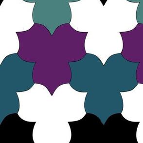 Tessellating_Trilliums_3colors-BLACK-WHITE