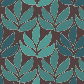 Cloisonne_med_leaf_texture_bluegreens_BROWN
