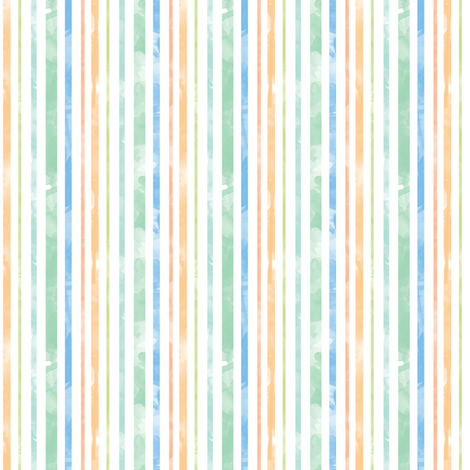 Watercolor Stripes fabric by leighr on Spoonflower - custom fabric
