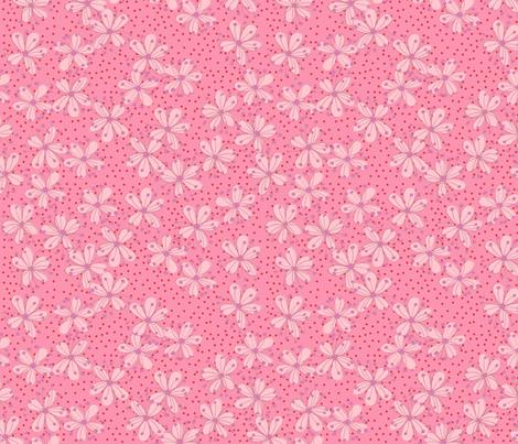 Cherry Blossoms fabric by erinina on Spoonflower - custom fabric