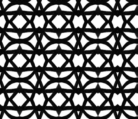 large_vine lattice fabric by joybea on Spoonflower - custom fabric