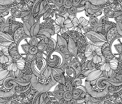 Doodles fabric by valentinaharper on Spoonflower - custom fabric