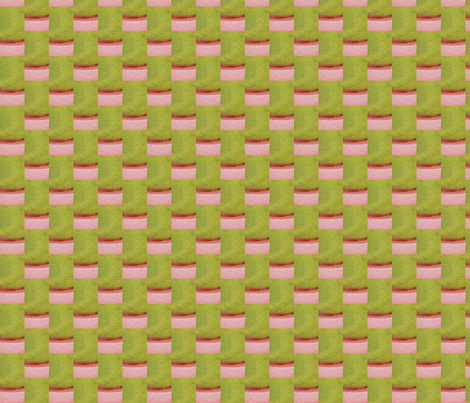 Watermelon Grass fabric by angella_meanix on Spoonflower - custom fabric