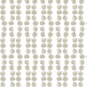 Strand of pearls in mocha