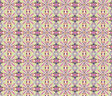 ZINNIA 5 fabric by natbrynkids on Spoonflower - custom fabric