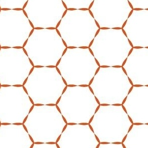 Honey Hive in tangerine