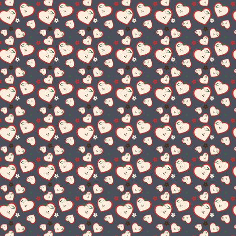 An Apple A Day fabric by eppiepeppercorn on Spoonflower - custom fabric