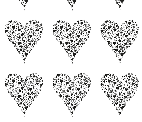ornate_heart fabric by karenmayo on Spoonflower - custom fabric