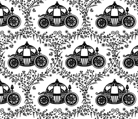 carriadge fabric by maeli on Spoonflower - custom fabric