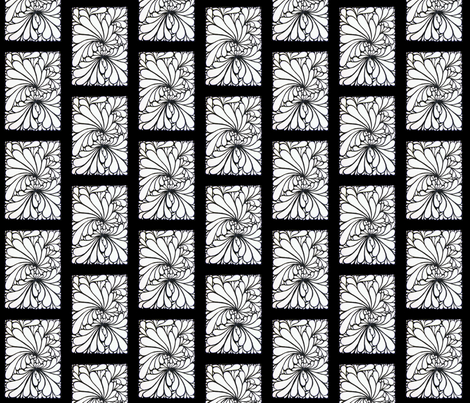 2009-3-8__Petals__in_India_ink fabric by eggerlady on Spoonflower - custom fabric