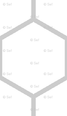inch hex (edge to edge)