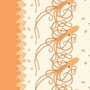 Squid_Border_Print_Peach
