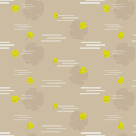 Leaves and Fog fabric by illustro_perry on Spoonflower - custom fabric