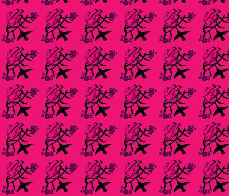 bird_and_heart fabric by gurumania on Spoonflower - custom fabric
