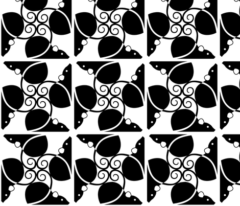 Black Rats fabric by meduzy on Spoonflower - custom fabric