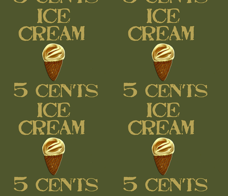 5cents fabric by chovy on Spoonflower - custom fabric