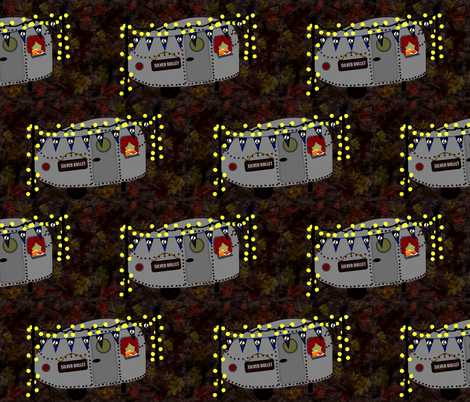 silver bullet fabric by paragonstudios on Spoonflower - custom fabric
