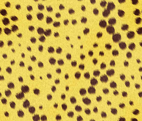 Cheetah_Skin fabric by animotaxis on Spoonflower - custom fabric