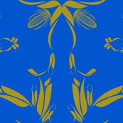 Duo Tone Blue and Gold